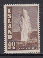 Iceland MNH Michel Nr 213 From 1939 / Catw 25.00 EUR - Unused Stamps