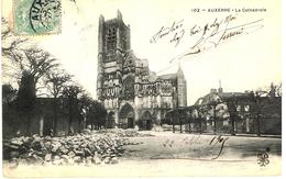 AUXERRE-LA CATHEDRALE-EN 1905- - Auxerre