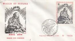 WALLIS ET FUTUNA - FDC NOEL 1979 - 1er JOUR MATA-UTU 17.12.19 / 1 - FDC