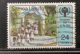 SAMOA I SISIFO OBLITERE - Samoa Americano