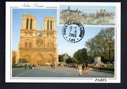 CARTE MAXIMUM -- SALON PHILATELIQUE   PARIS  2003 --LISA  0,50 - Maximum Cards