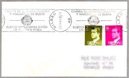Rodillo 100 AÑOS CAMARA DE COMERCIO INDUSTRIA Y NAVEGACION. Bilbao, Pais Vasco, 1986 - 1931-Hoy: 2ª República - ... Juan Carlos I