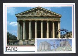 CARTE MAXIMUM -- TIMBRE  PARIS ATHENES (GRECE)  PHILATELIQUE   PARIS  2004 --LISA  0,50 - 2000-09