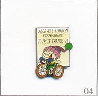 Pin's Sport - Cyclisme / Tour De France 1991 - Etape à Jaca (Es) -Val Louron (65). Estampillé DCI. Epoxy. T657-04 - Cycling