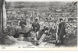 12/21     75    Paris   Canons Braqués Sur Paris En 1871    (animations) - Autres