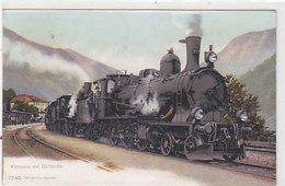 Airolo - Ferrovia Del Gottardo - 1913     (P-202-90419) - TI Tessin