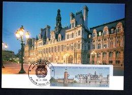CARTE MAXIMUM --  SALON PHILATELIQUE   PARIS  2005 -LISA  0,55 - Maximum Cards
