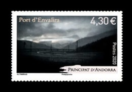 Andorra (FR) 2020 Mih. 860 Port D'Envalira Mountain Pass MNH ** - Unused Stamps