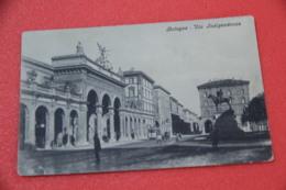 Bologna Via Indipendenza + Tram 1910 Ed. Jurizza - Bologna