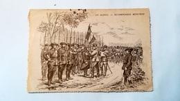 CARTE-LETTRE  DE L'ESPERANCE - EN ALSACE REGOMPENCES MERITEES - 1916 - Marcophilie (Lettres)