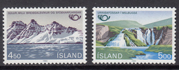 Iceland MNH Michel Nr 596/97 From 1983 / Catw 1.50 EUR - 1944-... Repubblica