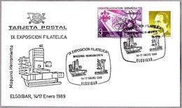 MAQUINA HERRAMIENTA - MACHINE TOOL. Elgoibar, Guipuzcoa, Pais Vasco, 1989 - Fábricas Y Industrias