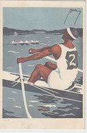 Schweizer Meisterschafts Regatta, Wohlen-See B. Bern - Signiert - 1922     (P-202-90419) - Rowing