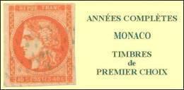 Monaco, Année Complète 2010, N° 2719 à N° 2756** Y Et T - Full Years