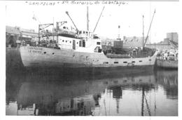 "Bateau De Commerce ""  Campegne "" C F EXTRAITS TANNANTS LE HAVRE ""CARTHAGE "" S F T A 1953 Wrecked 1897 Middlesbrough - Repro's"