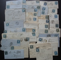 Lot De 36 Lettres Classiques, Différents états, Voir Photos De Détail ! - 1849-1876: Période Classique