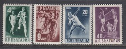 Bulgaria 1950 - Sport, Mi-Nr. 749A/52A, MNH** - 1945-59 Volksrepubliek