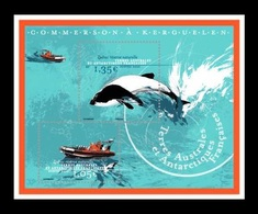 TAAF 2020 Mih. 1062 (Bl.75) Commerson Boats Off The Coast Of Kerguelen. Fauna. Dolphins MNH ** - French Southern And Antarctic Territories (TAAF)