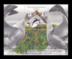 TAAF 2020 Mih. 1065 (Bl.77) Fauna. Birds. Albatrosses MNH ** - French Southern And Antarctic Territories (TAAF)