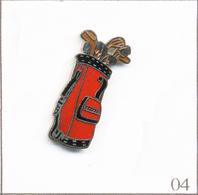 Pin's Sport - Golf / Sac De Golf. Estampillé Démons & Merveilles. EGF. T673-04 - Golf