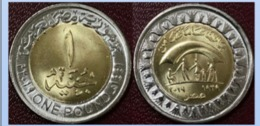 Egypt 2019 - RARE 1 Pound , Celebrating 80 Years Of Solidarity , UNC , Gomaa - Egipto