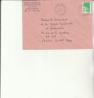 H 4 - Enveloppe Gendarmerie Prévôtale De DONAUESCHINGEN  Avec Cachet BPM N° 519 - Marcofilie (Brieven)