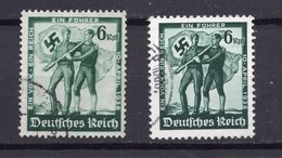 ALEMANIA IMPERIO / GERMANY REALM , 1938  MICHEL 662-663 - Germania