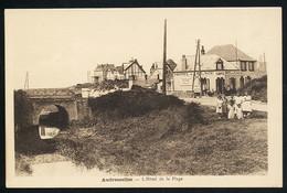 AK/CP Audresselles  L Hotel De La Plage   Ungel/uncirc .1914-18  Erhaltung/Cond. 1-  Nr. 00937 - France