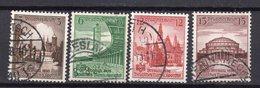 ALEMANIA IMPERIO / GERMANY REALM , 1938  MICHEL 665 A 668 - Germania