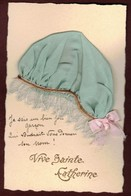 Carte Bonnet De Sainte Catherine Fantaise Je Suis Un Bien Joli Garçon Qui  Voudrait Vous Donner Son Nom ! Ste-Catherine - Saint-Catherine's Day