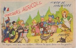Carte Humoristique Paris Porte De Versailles  Concours Agricole - Non Classés