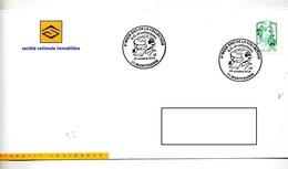 Lettre Cachet Montchanin Collection Bd - Storia Postale