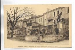 32 - Terraube ( Gers ) - Monument Aux Morts ( 1914-1918 ) Et Boulevard Du Levant - Francia