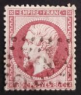 1862, Emperor Napoléon Lll, 80c, Empire Française, France - 1862 Napoléon III.