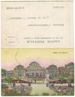 Carte Avec Publicité Et Carte De Commande Jointe - Eau Minérale Jaillissante Du Bassin De Vichy (Allier) - Publicités