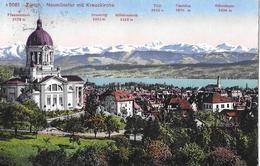 ZÜRICH → Neumünster Mit Kreuzkirche Anno 1913 - ZH Zurich