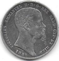 5 Lire  Victor Emmanuel II   1851 P - Regional Coins