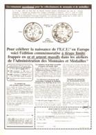 """PUB NAISSANCE De L' """" E.C.U """"   1979 ( 1 ) - Monnaies & Billets"""