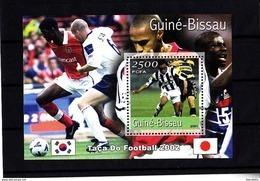 Football - Soccer World Cup 2002 - GUINEA BISSAU - S/S MNH ** - Coppa Del Mondo