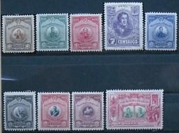 Peru 1921 (9 Stamps*) - Pérou