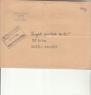 L 1 -  - Enveloppe Pour Gendarmerie Prévôtale SP 71710 Avec Cachet PARIS TRI INTERARMEES - Marcofilie (Brieven)