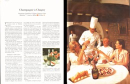 """PUB RESTAURANT """" LAMELOISE à """" CHAGNY """" (SAONE Et LOIRE) CHAMPAGNE """" MUMM """" 1979 - Bourgogne"""