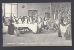 DOOFSTOMMEN INSTITUUT ST. MICHIELS GESTEL ( BERLAAR LIER ? ) WASSCHERIJ - Berlaar