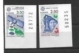 France N°2696/2697**non Dentelés Cote85€ - Francia