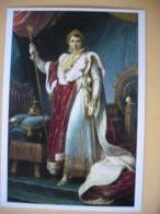 Napoléon Bonaparte, Tableau, Napoléon En Costume Du Sacre 1805 - Historische Persönlichkeiten