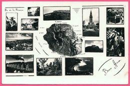 Bonne Année - Multivues - Ile De La Réunion Saint Denis Saint Pierre - Blason - Edit. B. BEINARD - 1951 - Unclassified