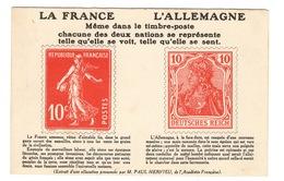 MILITARIA - Patriotique Sur Le Thème Du Timbre - Patrióticos