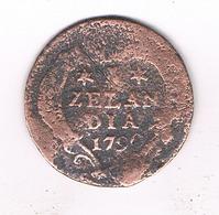 DUIT  1790 ZEELANDIA NEDERLAND /204/ - [ 1] …-1795 : Former Period