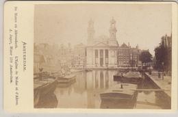 CDV - Amsterdam - De Mozes En Aaronskerk - Foto Jager - Old (before 1900)
