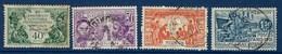 """Reunion YT 119 à 122 """" Expo Coloniale Paris """" 1931 Oblitéré - Used Stamps"""